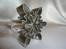 Snowflake Cookie Cutter Cut-Outs cookie recipe Christmas gifts baking supplies A