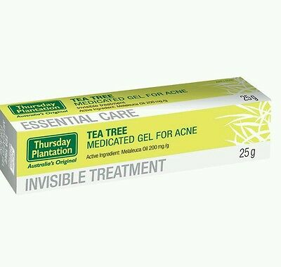 New 25g 2× Thursday Plantation Acne Gel Tea Tree Antibacterial - OzHealthExperts