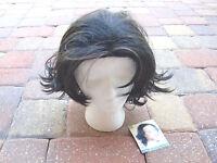 Nwttribeka Chic&sassy Black W/hilights 100%synthetic Fiber Origin Japan Wig