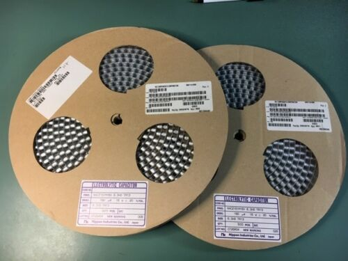 SMD LOT OF NEW NIC NACZ151M16V6.3X8 Cap Aluminum 150uF 16V 20/% 6.3 X 8mm 500