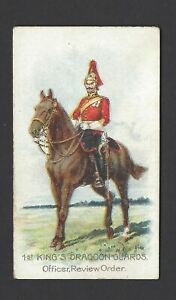 WILLS-SCISSORS-TYPES-OF-BRITISH-ARMY-1ST-KING-039-S-DRAGOON-GUARDS