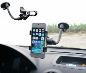 Car-Windshield-Mount-Stand-Clip-Phone-Holder-For-iPhone-X-6-7-8-Samsung-S9-S8-LG