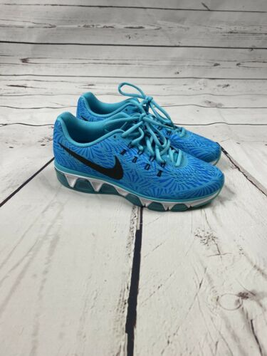 EUC Nike Blue Tailwind 8 Sneakers Sz 7.5