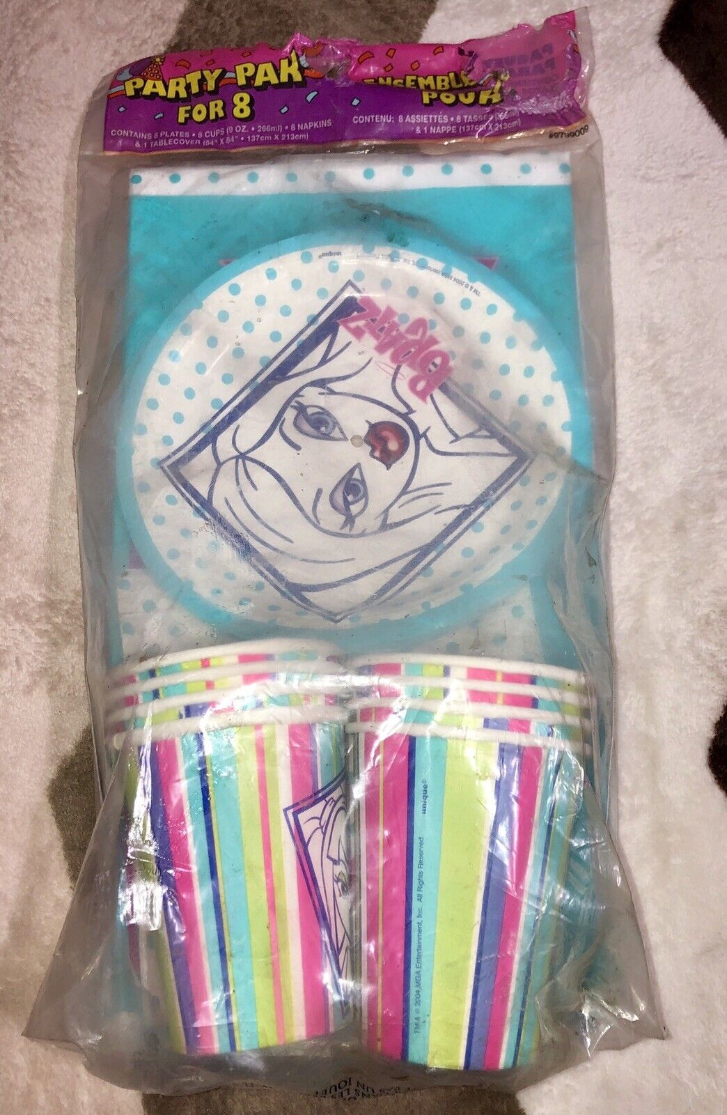 Vintage Vintage Vintage Rare Bratz Dolls Party Supply Pak For 8 Unique NEW 2004 9faf43