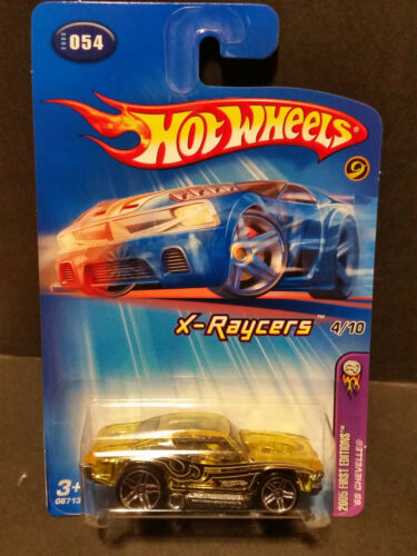 G6713 2005 Hot Wheels #54 First Edition X-Raycers 4//10 /'69 Chevelle