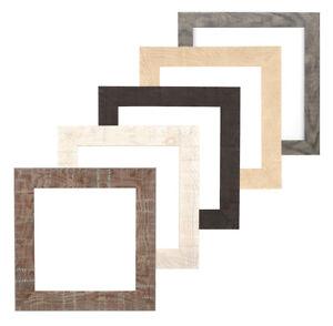Shabby-Chic-Rustico-De-madera-de-grano-Instagram-Cuadrado-Cartel-Foto-Marco-De-Foto