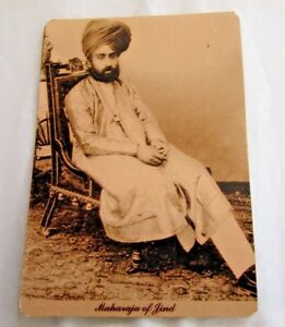 Vintage-Repro-Picture-Postcard-034-Maharaja-of-Jind-034-The-Rotary-Photo-Co-London