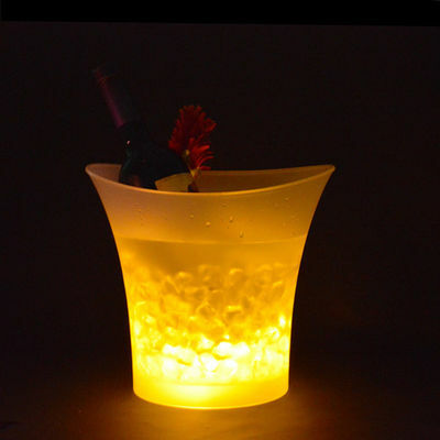 7 LED 5L COLOUR CHANGING ICE BUCKET CHAMPAGNE WINE DRINKS BEER COOLER BAR PARTY