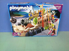 (O4133) playmobil Set chevalier ref 4133 en boite complète