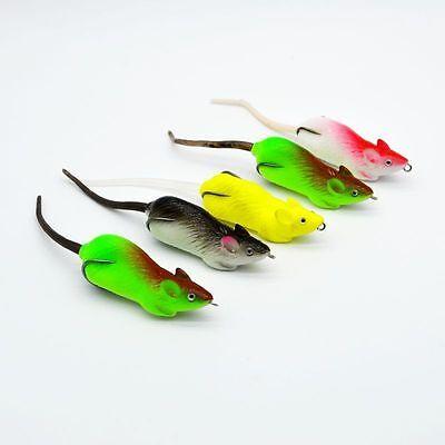 5pcs Lot Soft Plastic Lures Fishing Lure Soft Bait Carp Tackle 5 Colors 5.1CM 5G