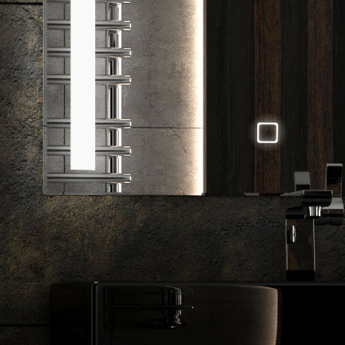 Revoled NEUF 80*60 cm Neutre Bluetooth haut-parleurs miroir de salle ledspiegel!!!