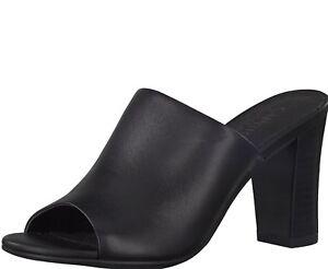 Schuhe Schwarz Echtes 27213 37 Größe 40 Leder Damen Caprice Absatz 30 38 5gqwEE64