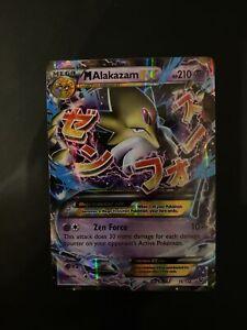 Pokemon Card M Alakazam EX Fates Collide 26/124 Ultra Rare Mint