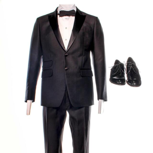 House of Cards Thomas Yates Paul Sparks Screen Worn Tuxedo Shirt & Shoes Ep 509