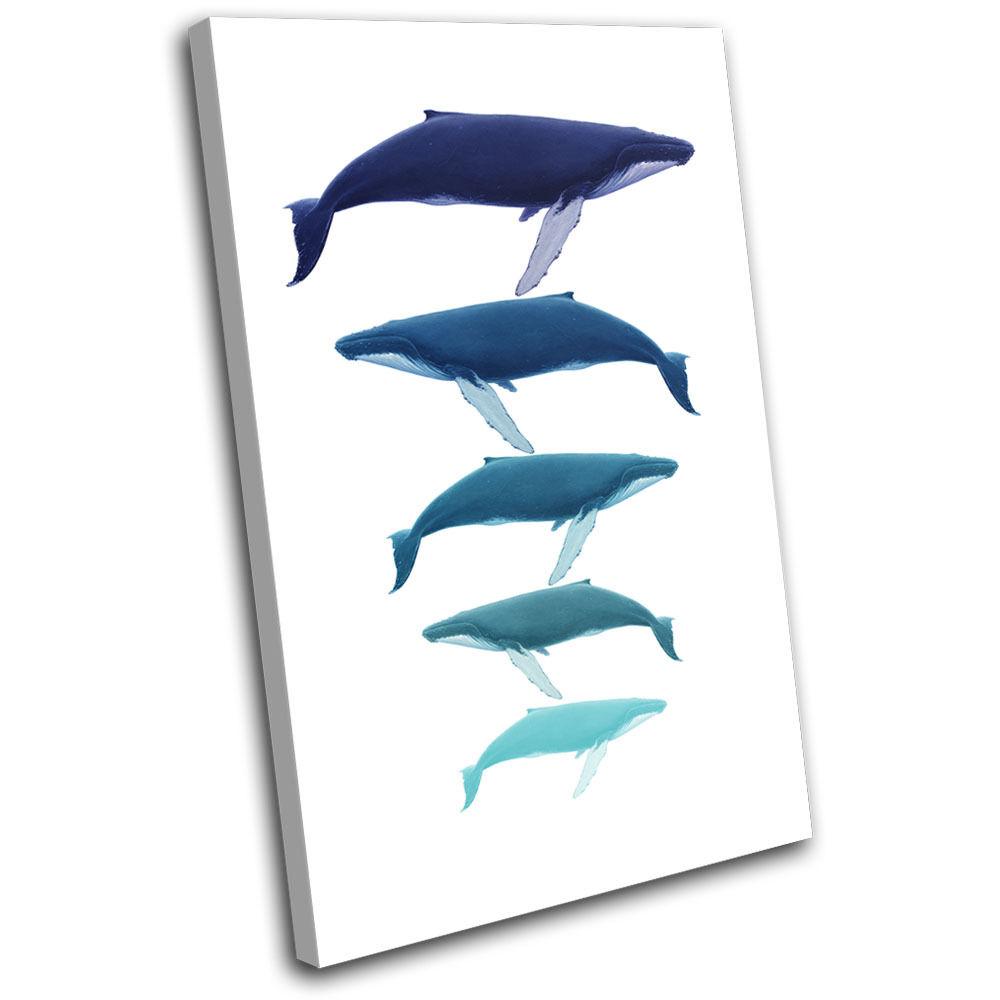 Bathroom Whale SINGLE Ocean Sea Life Animals SINGLE Whale LONA pa rojo  arte Foto impresion 749562