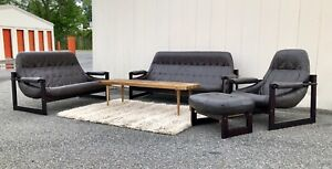 Details About Percival Lafer Sofa, Loveseat, Chair And Ottoman