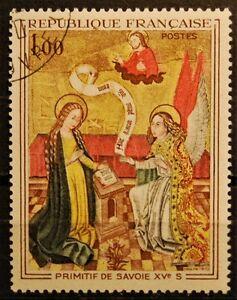 Briefmarken-Frankreich-gestempelt-MiNr-1713