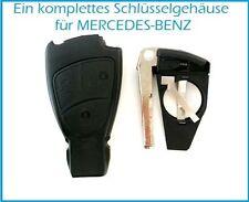 Schlüssel Schlüsselgehäuse Ersatz für MERCEDES W168 W202 W203 W208 W210 W211 A B