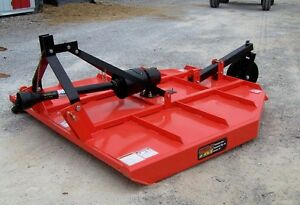 New-TRI-6-ft-Brush-Cutter-W-Slip-Clutch-3-pt-Made-in-USA-WE-CAN-SHIP-CHEAP