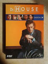 4284 // DR HOUSE SAISON 2 COFFRET 6 DVD TBE