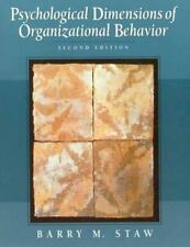 Psychological Dimensions of Organizational Behavior (2nd Edition)-ExLibrary