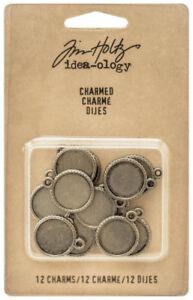 Tim-Holtz-Idea-ology-Charmed-Metal-Cabochon-Base-Decorative-Element-Ideaology