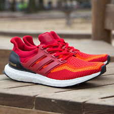 Adidas Ultra Boost M Solar Power Red Size 12. AQ4006 NMD Yeezy uncaged