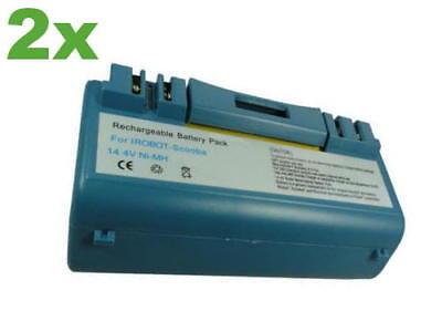 Batterie 4500mah pour iRobot scooba 5800 5900 6000 34001 bpl18151