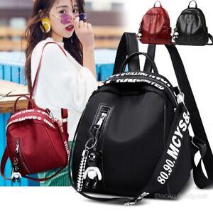 Fashion-Women-Lady-School-Leather-Girls-Backpack-Travel-Handbag-Shoulder-Bag