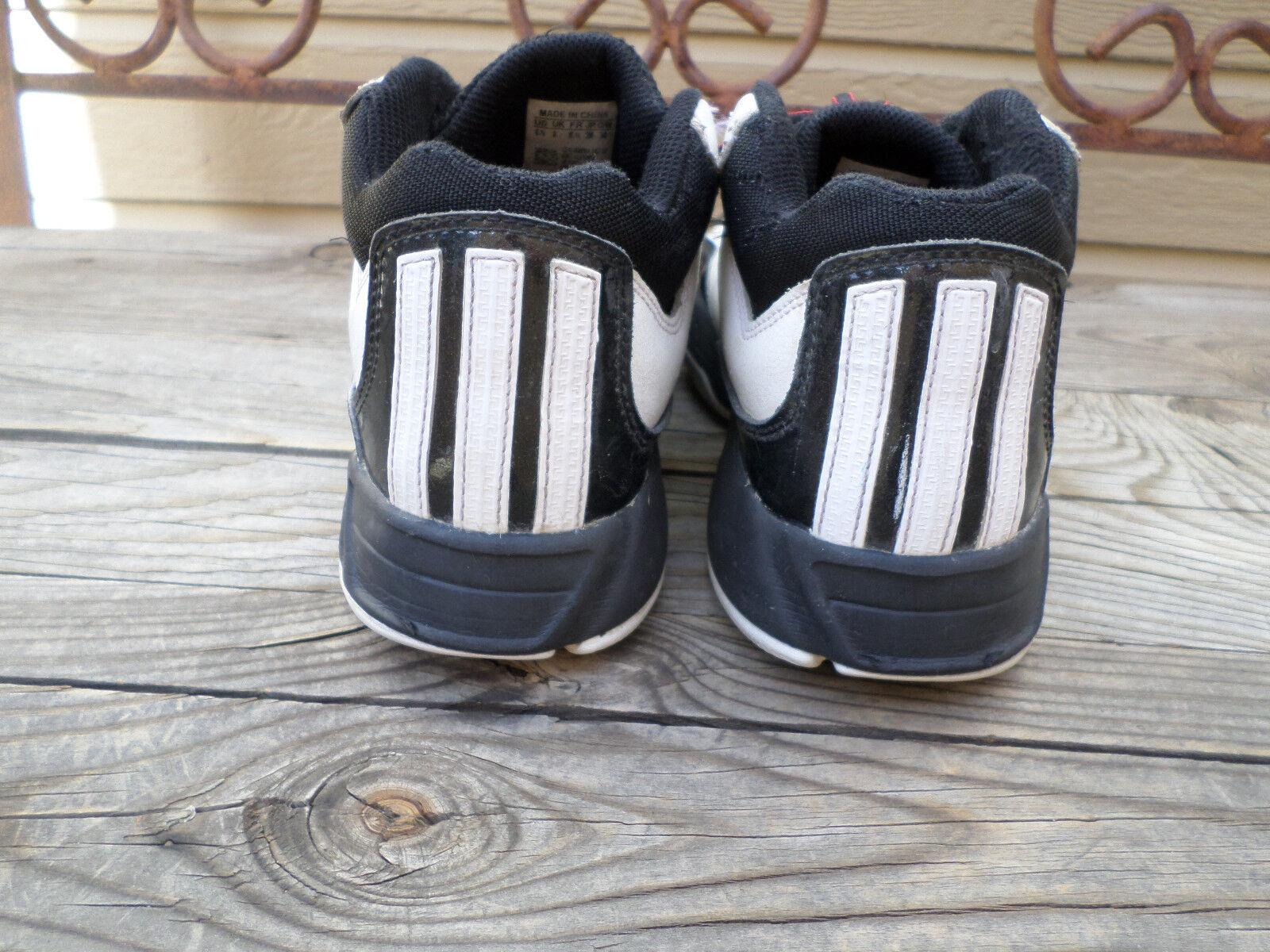 the best attitude b9605 06c52 ... Adidas blanco y negro negro negro zapatos de baloncesto de los hombres  zapatos casuales de 6 ...