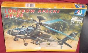 MODEL-KIT-ELICOTTERO-MILITARE-ITALERI-1-48-AH-64-LONGBOW-APACHE-FIGHT-HELICOPTER