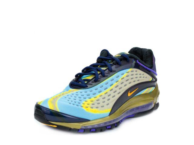 super popular 52ec0 608c0 Nike Mens Air Max Deluxe NavyOrange AJ7831-400