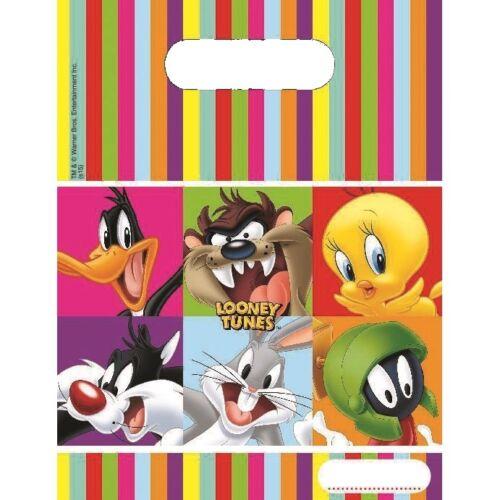 Looney Tunes Fiesta Vajilla Globos Decoraciones