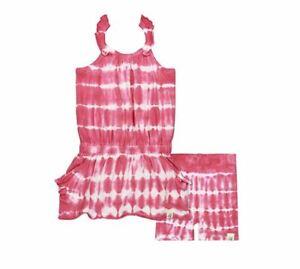 Burt-039-s-Bees-Baby-Baby-Girls-039-Tee-and-Shorts-Set-Watermelon-0-3-Months
