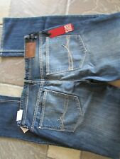 NEW I-JEANS BY BUFFALO ETHAN SUPER SLIM JEANS MENS 38X32 BLUE BLASTED FREE SHIP