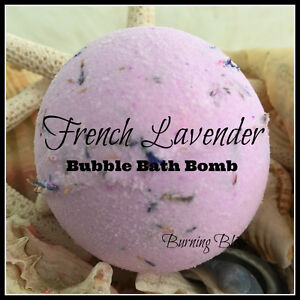 FRENCH LAVENDER Aromatherapy Bubble Bath Bomb PURE,HANDMADE,ADDICTIVE 160g