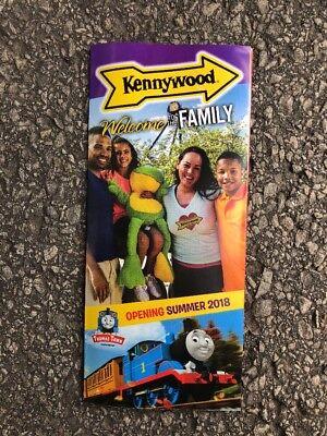 Kennywood Park 2018 Brochure guidemap Thomas Town
