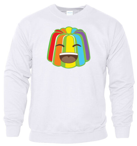 Rainbow Sweat à capuche Crazy Jelly Kids T-shirt youtuber Sweat Shirt