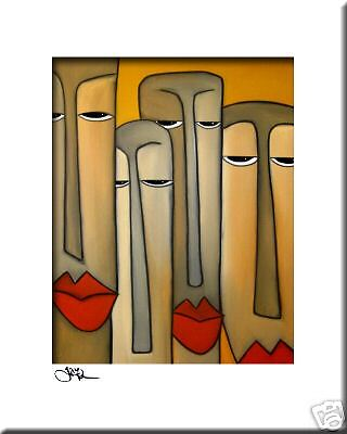 CONTEMPORARY POP ART Abstract MODERN print FIDOSTUDIO CLIENTELE