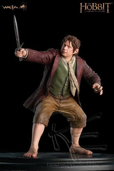 Weta Collectibles The Hobbit Bilbo Baggins Statue New