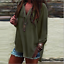 thumbnail 6 - Women-Long-Sleeve-Chiffon-T-Shirt-Ladies-Summer-Loose-Tops-Blouse-Plus-Size-Hot