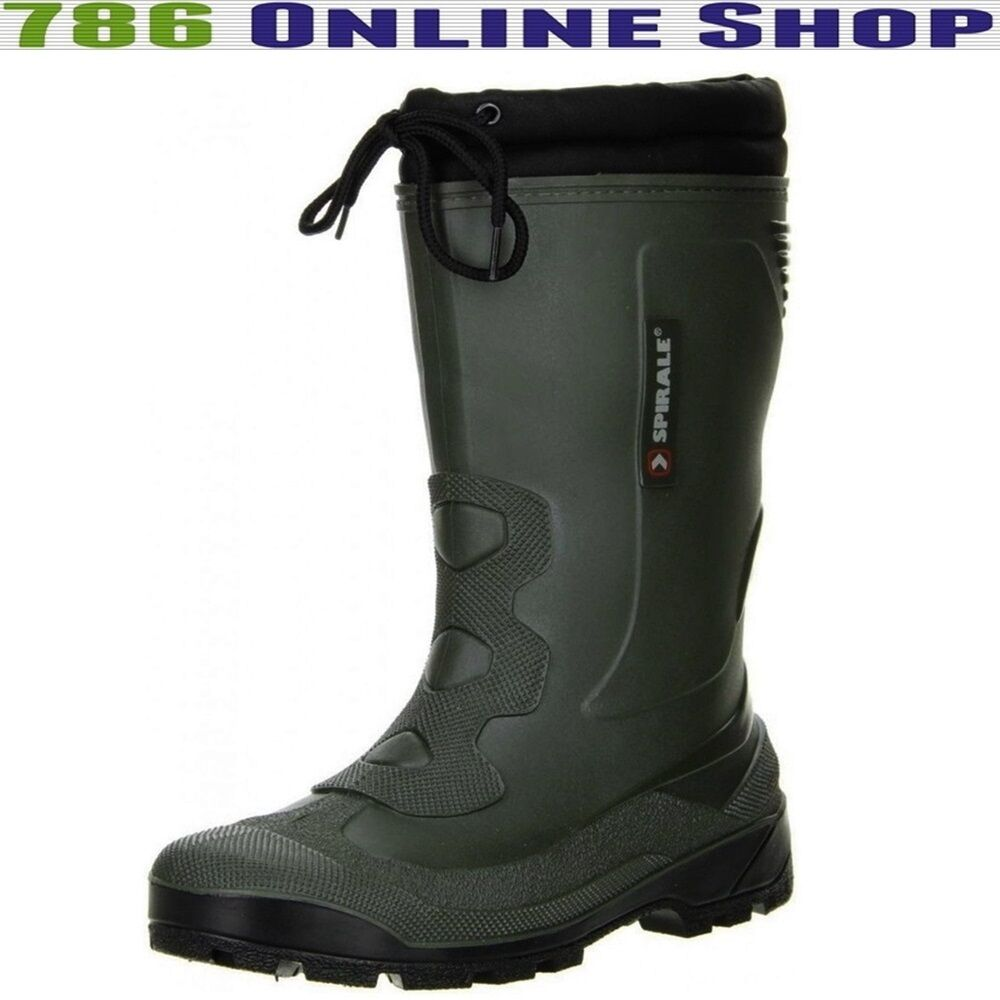 Spirale Ladies Men's shoes Winter shoes (216C) lined wellies NEW