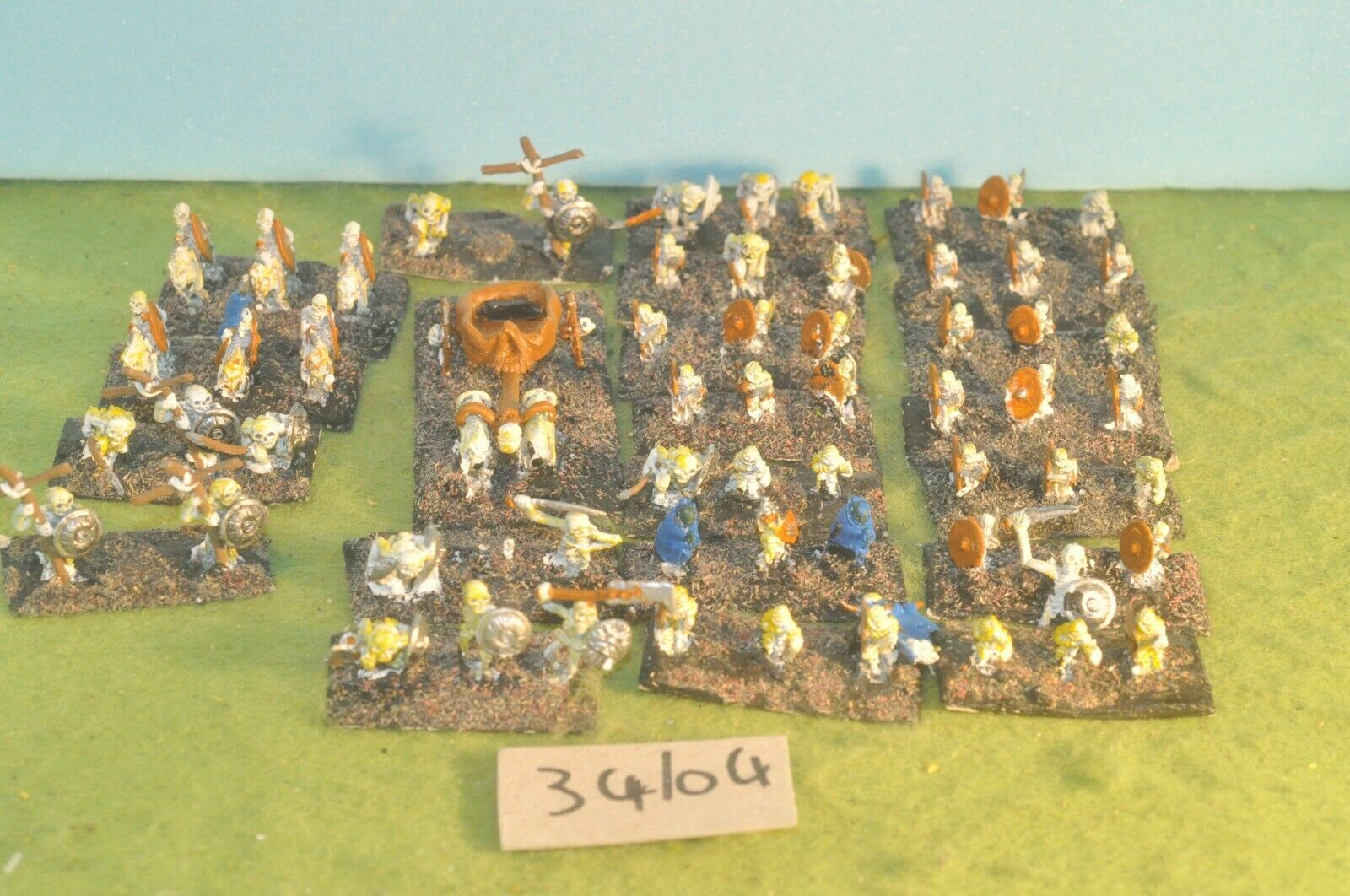 Skeleton horde 62 metal small scale warhammer fantasy sigmar (34104)