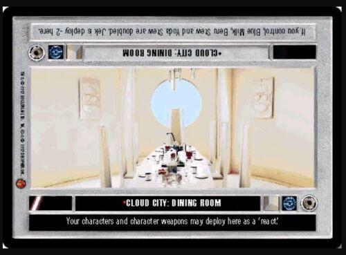 Star Wars CCG Cloud City Dining RoomCloud CityNM//Mint Bonus!