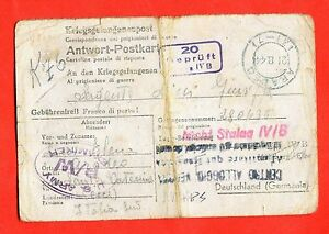 MILITARY-World-War-2-WW2-Italian-prisoner-STALAG-IV-D-TORGAU-ELBE-183-d53