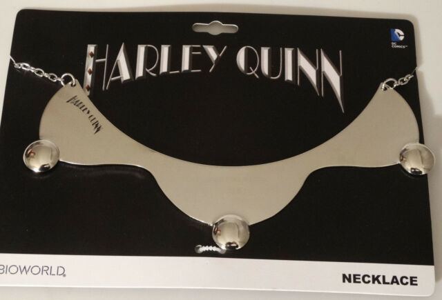 Harley Quinn Batman Dc Comics Collar Necklace Nwt