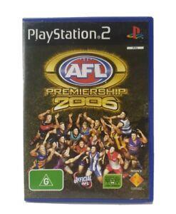 PS2-AFL-Premiership-2006-Inc-Manual