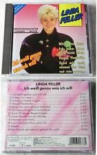 LINDA FELLER Ich weiß genau was ich will ... 1992 Koch CD TOP