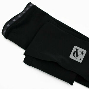 Thermal-Fleece-Black-Windproof-Cycling-Leg-Warmers-Winter-Cycling-or-Running