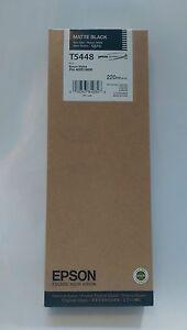 Ink-cartridge-T5448-Epson-Stylus-Pro-4000-matte-black-C13T544800-220ml-NEU-OVP